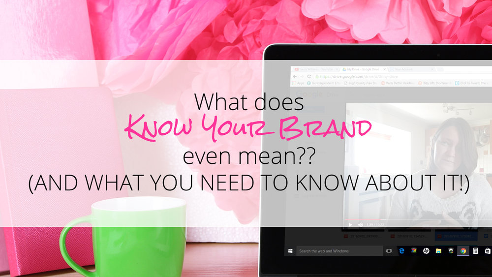 Click to watch the Video. Why you need to clear about your Brand, and the 6 Essential Things you need to be straight on for the long term success of your Business