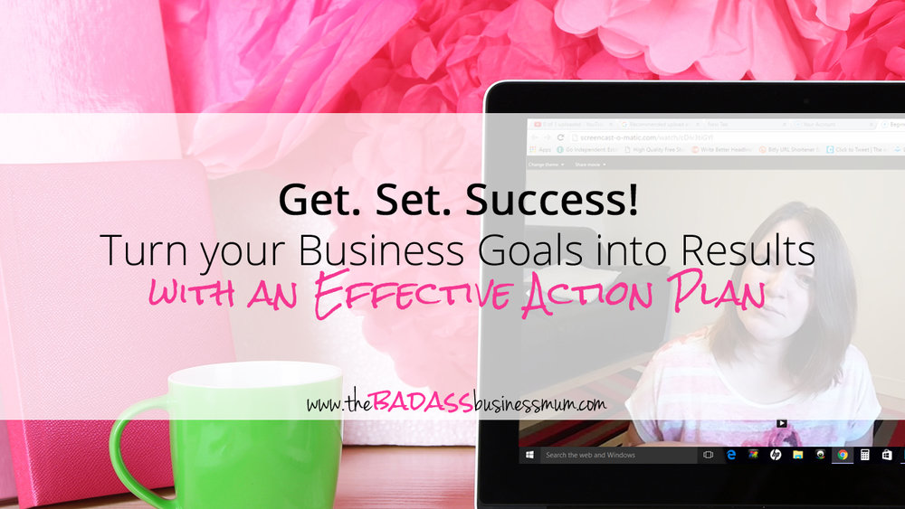Turn your Business Goals into Results with this class on Effective Action Planning