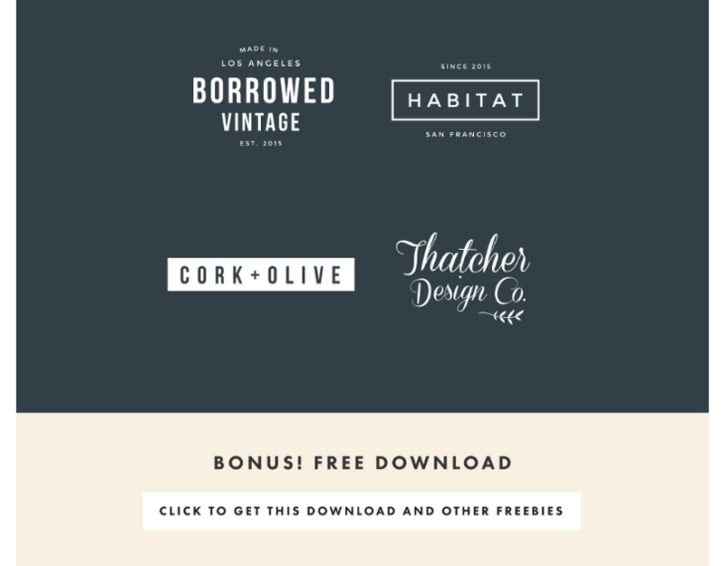 Free Logo Templates fro Station Seven