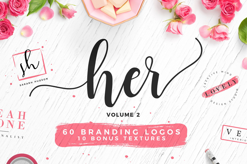 Feminine Logo Templates from Creative Market