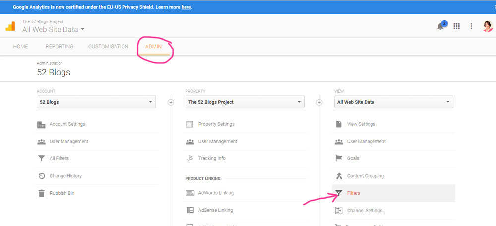 How to remove your IP address from your Google Analytics data