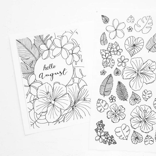 When you finally master Illustrator enough to digitize your own doodles! #feelinglikeagenius #flowerdoodles