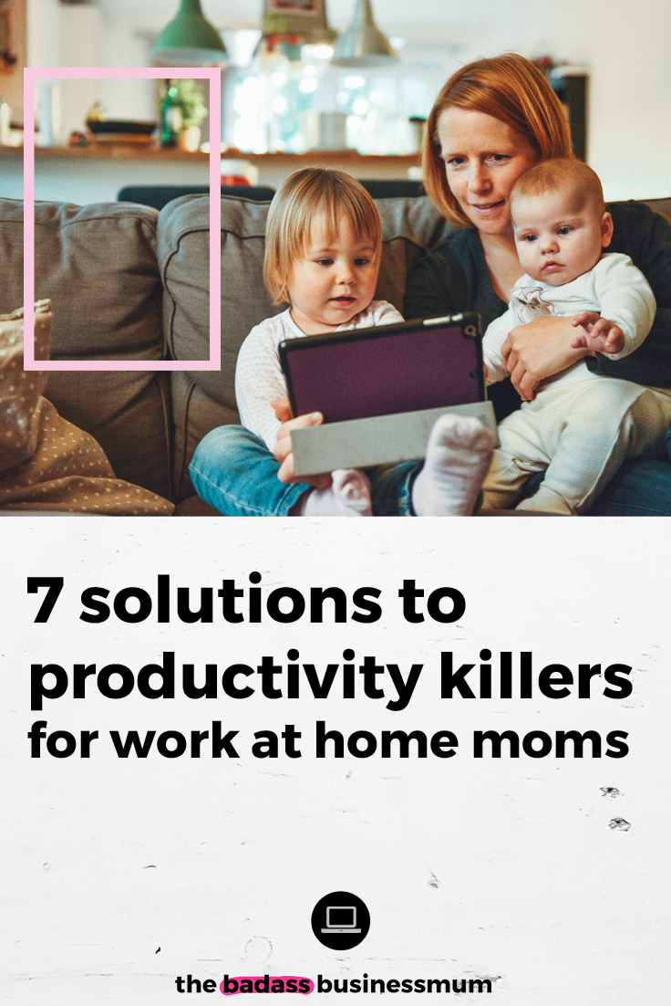 Head over to The Badass BusinessMum and download your Free, Exclusive Productivity Workbook now, created for the busy Work At Home Mum! Packed full of practical advice, actionable help  and worksheets to help you focus your business ideas, make effective plans and streamline your way to maximum productivity.