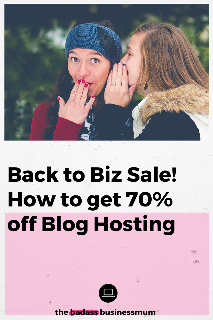 How to get 70% off Blog Hosting with SiteGround