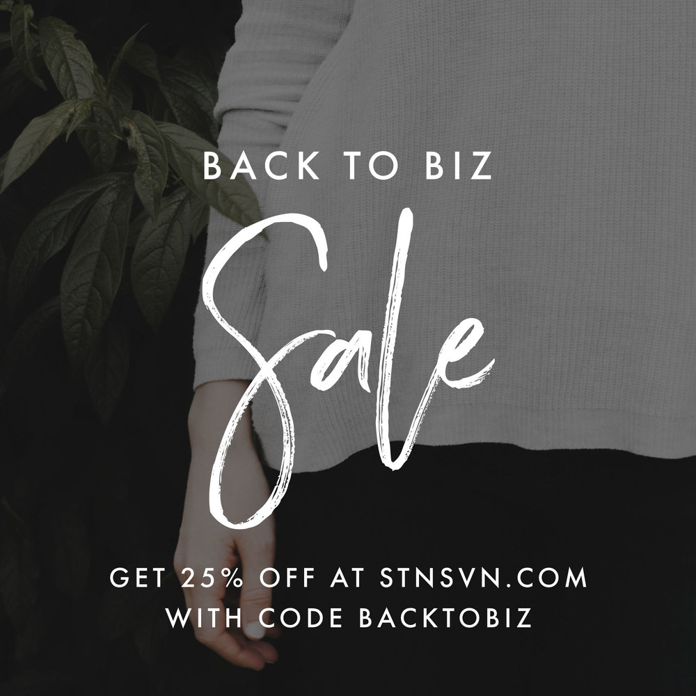 25% off Premium WordPress Themes, Squarespace Design Kits and Photoshop Templates by Station Seven.