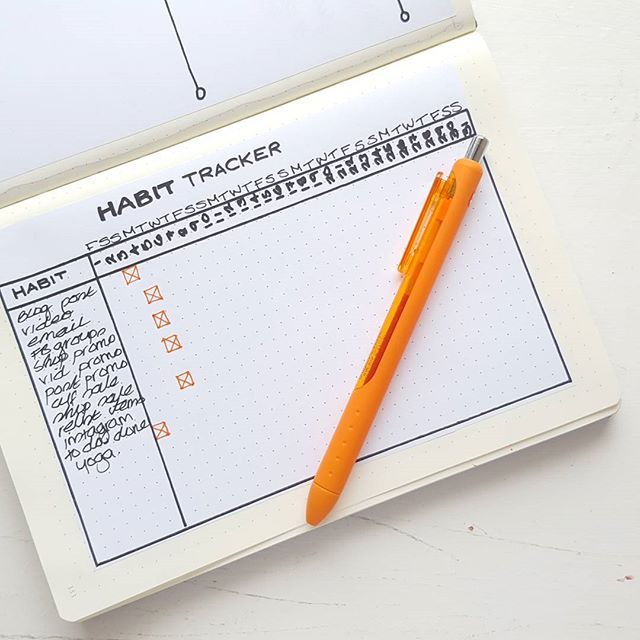 Never quite sure if a new Habit Tracker is daunting or an exciting challenge! I guess it's a bit of both! Need to make sure September's doesn't end up as sad and empty as August did 🤔  If you need a simple way to keep on top of your daily habits, grab a Habit Tracker printable from the shop (#linkinbio)