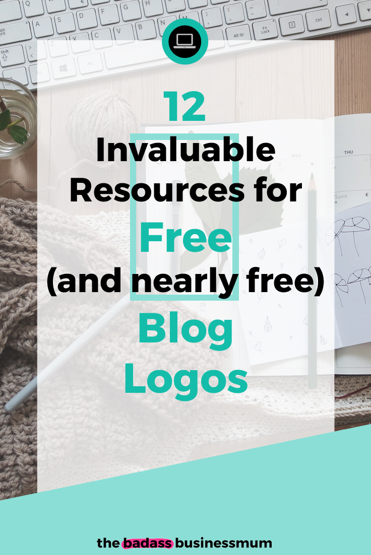 Find out my 12 Favourite Sites for Free and Reasonably Priced Blog Logo Designs