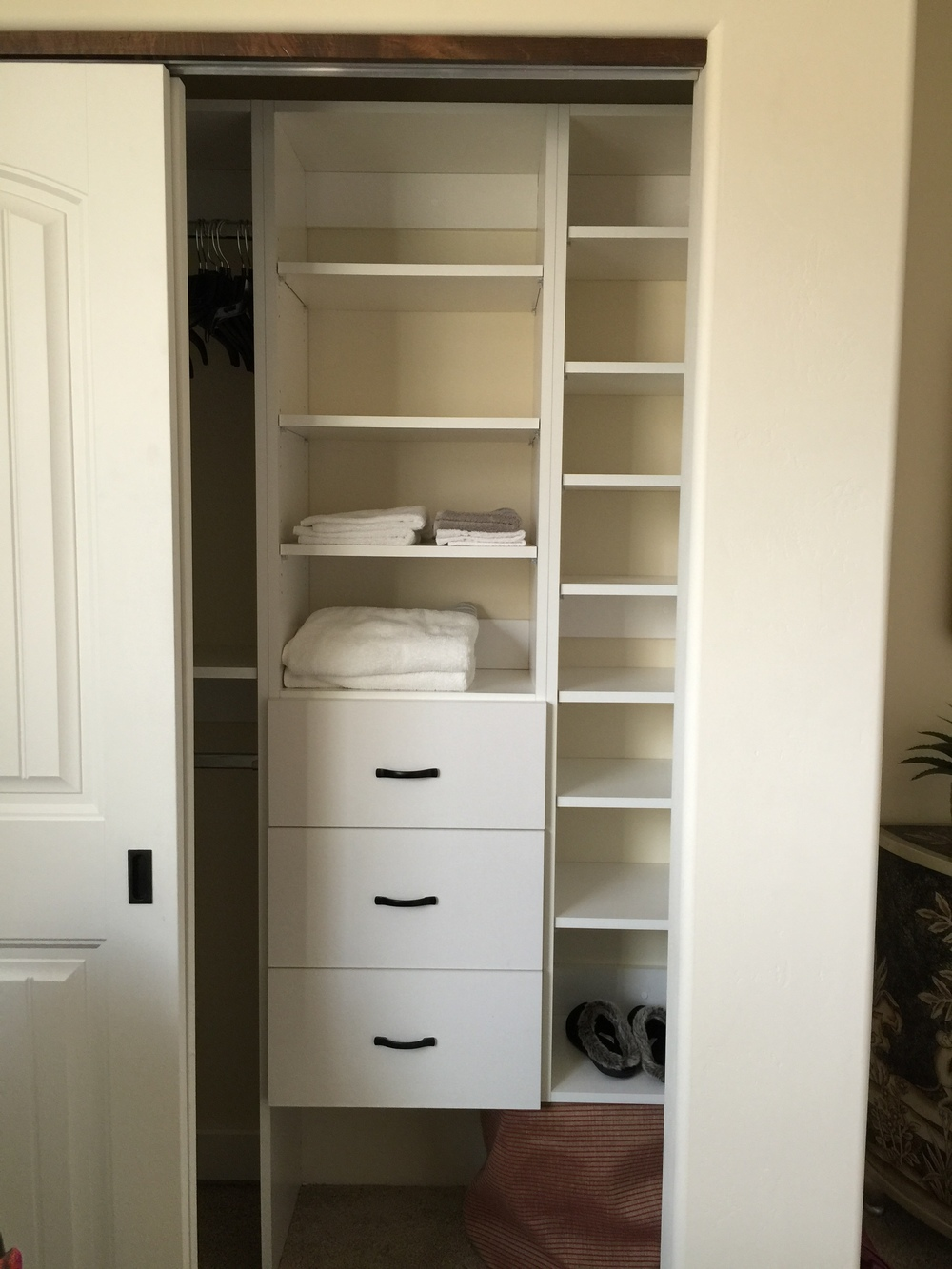 Small Wall Closet After