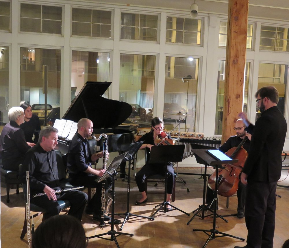 No Exit New Music Ensemble performing Jefferson Friedman's 78 @ Spaces in Cleveland (2016)
