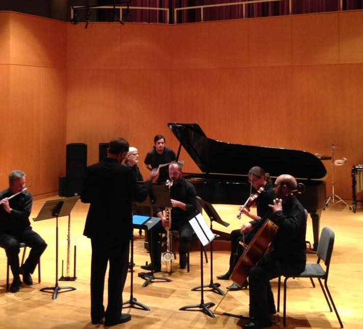 No Exit New Music Ensemble performing Jefferson Friedman's 78 @ CSU's Drinko Hall in Cleveland (2016)