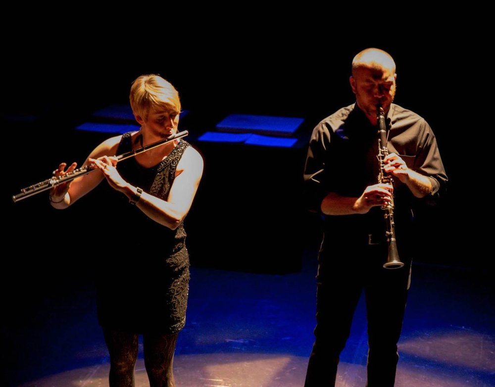 With Lindsey Goodman performing Kieren MacMillan's  Round 7:30  @ City Theatre in Pittsburgh (2015)