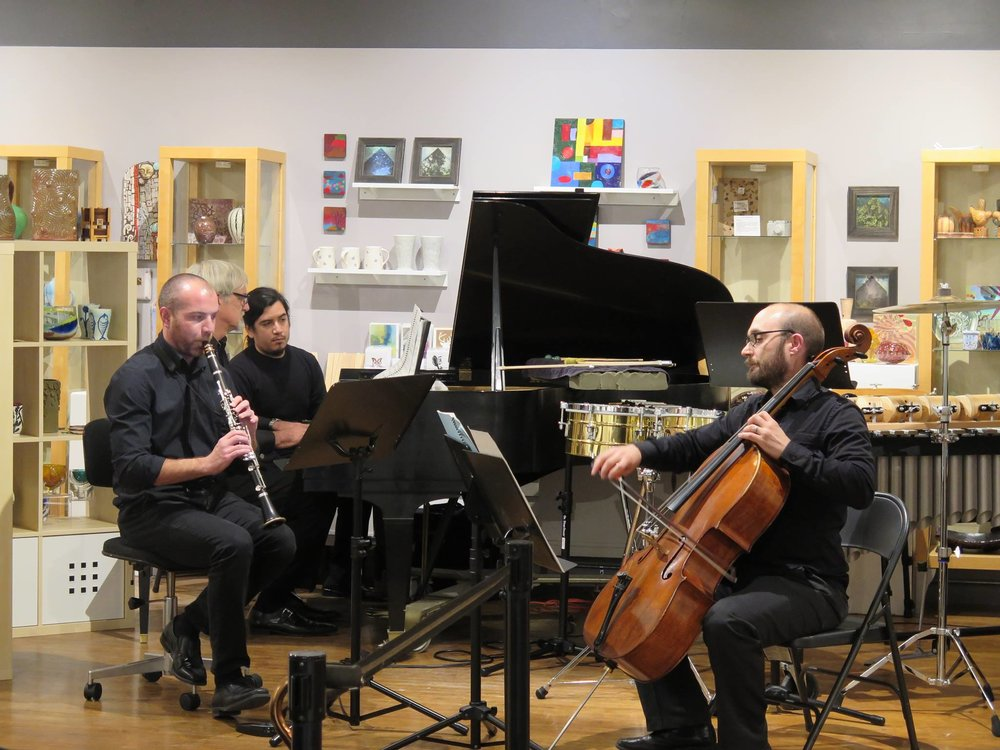 Per Norgard's Spell with the No Exit New Music Ensemble @ Heights Arts in Cleveland (2016)