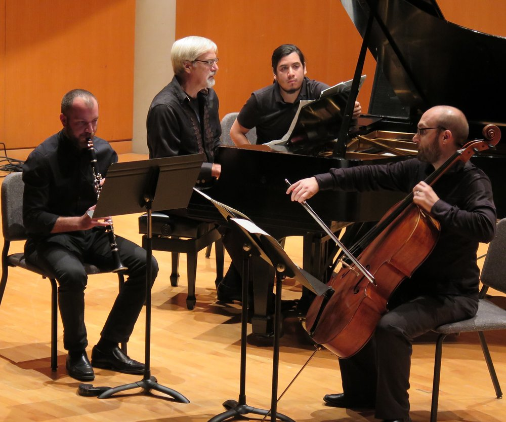 No Exit New Music Ensemble performing Per Norgard's  Spell  @ CSU's Drinko Hall in Cleveland (2016)
