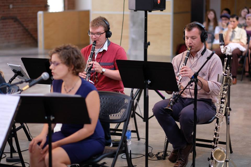 Performing Steve Reich's  Music for 18 Musicians  @ Omaha Under the Radar New Music Festival (2014)