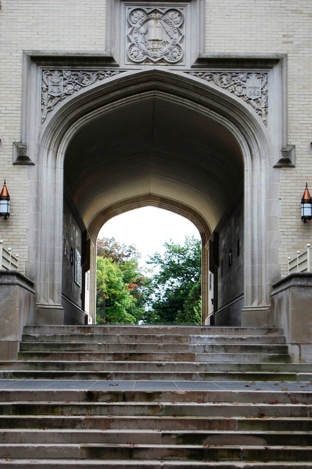 College of Wooster - Kauke Arch (photo: Laura Herb)