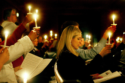 you are invited to christmas eve candlelight service