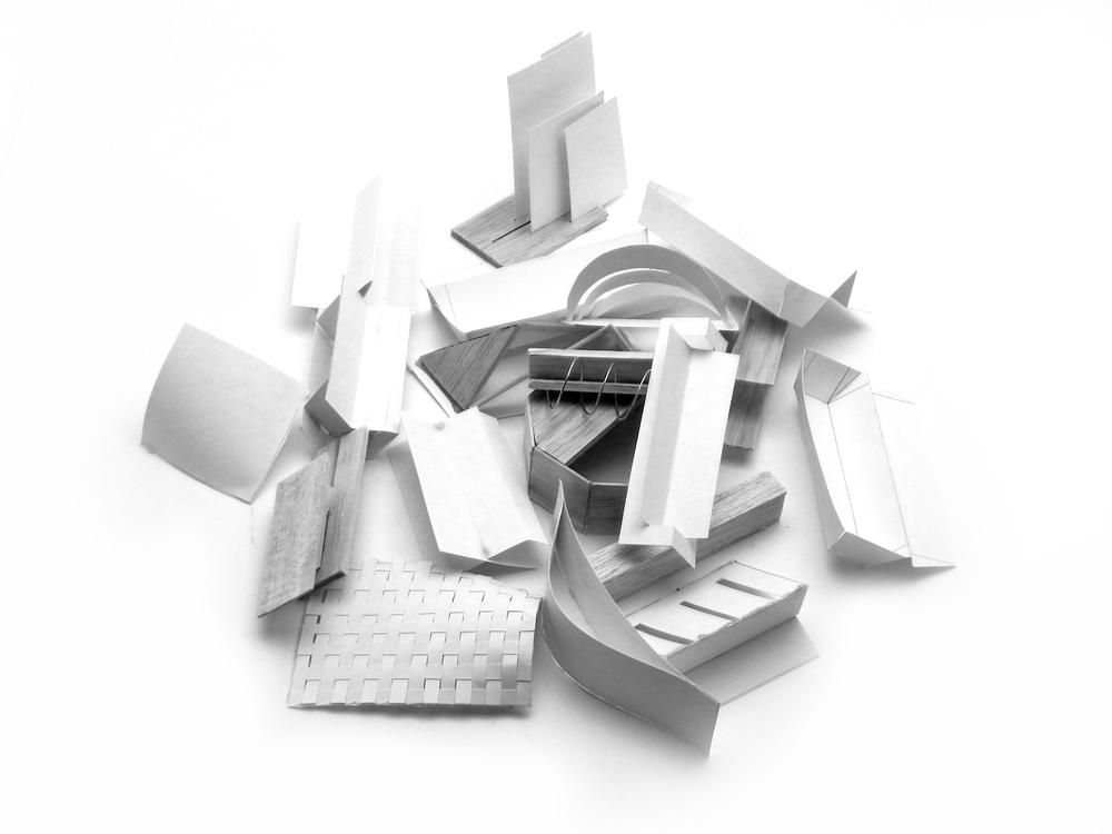 Paper Model Form Studies.
