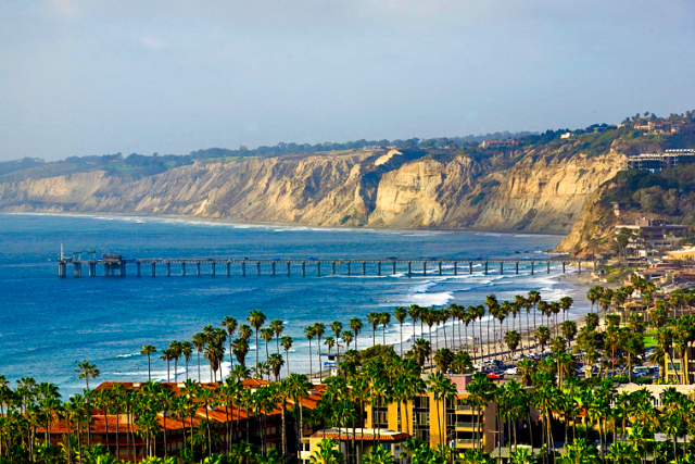 La Jolla is one of the most beautiful towns along the California coast.