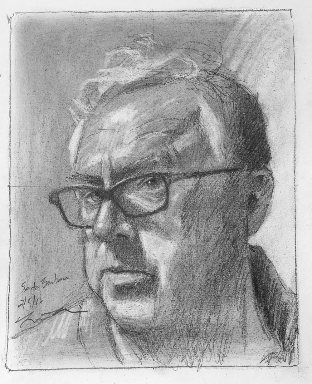 Brian Bomeisler (demonstration self-portrait) 2-1-2016