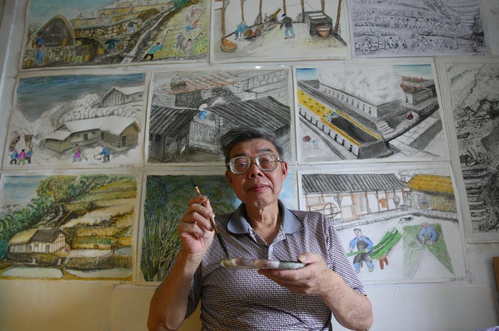 Artist Zhang Cai Zhu