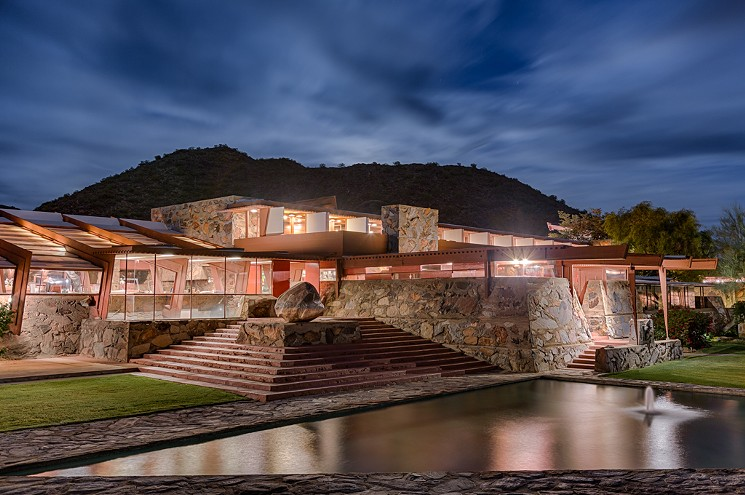 While in Scottsdale, visit nearby Taliesin West--the studio and home of Frank Lloyd Wright.