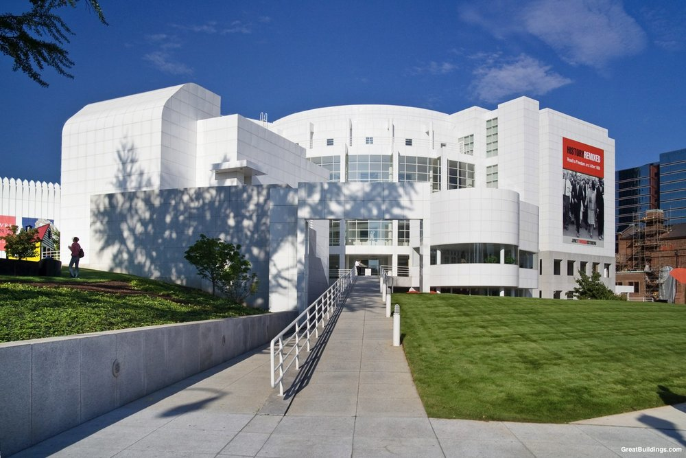 The renowned High Museum of Art in Atlanta.
