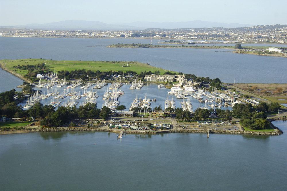 Berkeley has a beautiful marina.