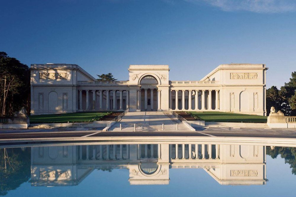 The Legion of Honor is located in Presidio Park, one of San Francisco's most beautiful locations. Spend the day here sketching!