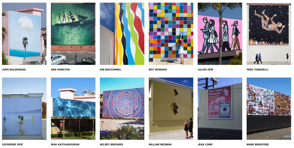 Visit the Murals of La Jolla--a unique site-specific group of world-class artists who have created giant murals around the town of La Jolla!