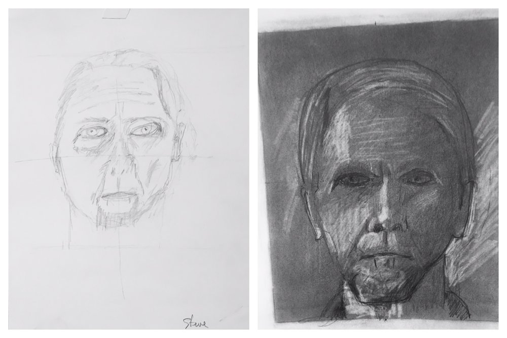 Here is just one example of a student's progress over just 5 days! You, too, can learn to draw!