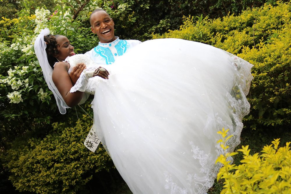 Joseph and Dorris got married on April 8th!