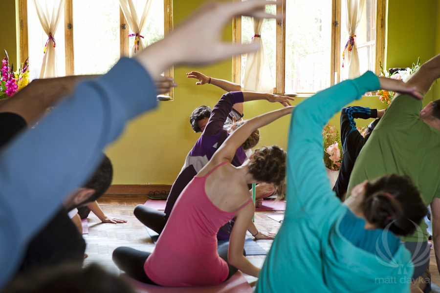 STRETCH  your body, mind and spirit with private Yoga classes with Breathing Room's Margot Broom.