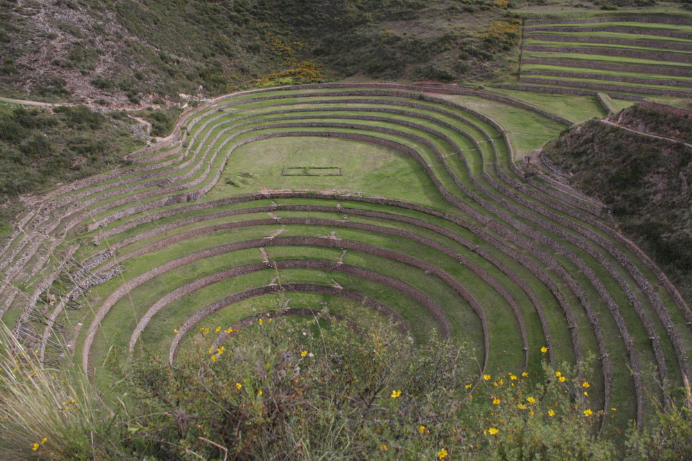 The mystical terraces of Moray