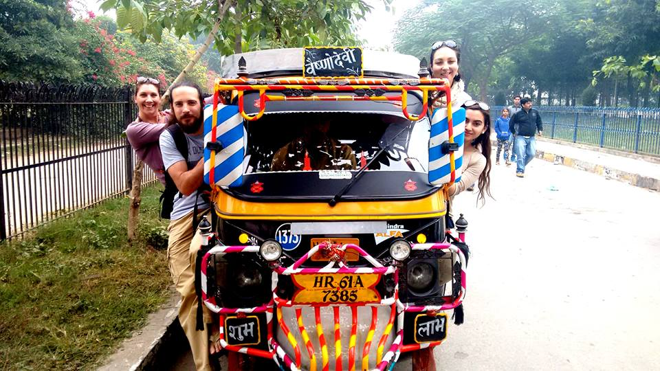 """EXPLORING Delhi in an open-air """"taxi"""" is not for the faint hearted, but it is exhilarating!"""
