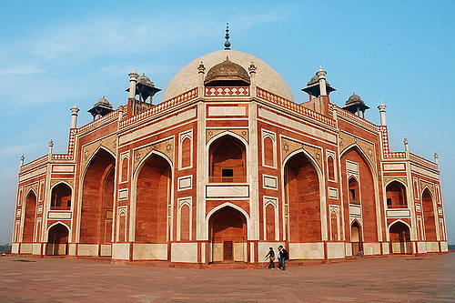 Humayun's Tomb, built in 1570, was the first garden-tomb in India. It inspired several major architectural innovations, culminating in the construction of the Taj Mahal.