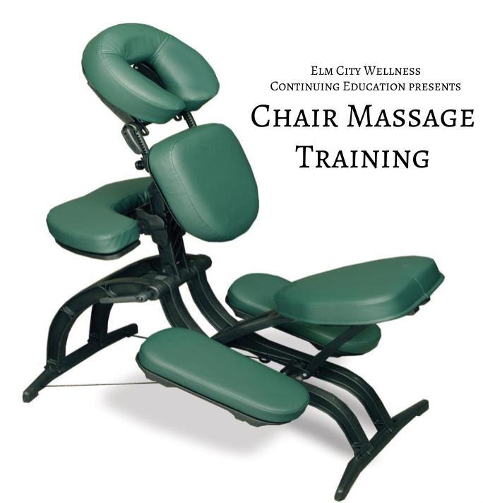 Chair Massage Training - Instructor: Cheryl Wilson, LMT