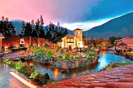 Aranwa Sacred Valley Hotel & Wellness is built on the banks of the Vilcanota River, on the grounds of a 17th century hacienda.