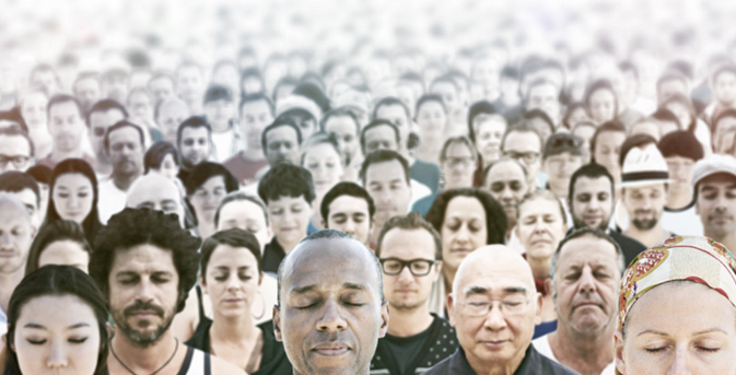 The mind-blowing effects of mass meditation - Read article.