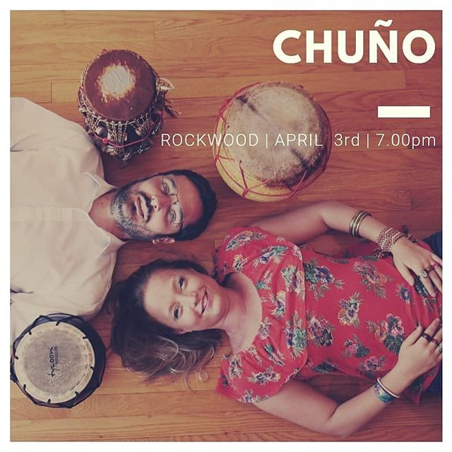 Next concert @rockwoodmusichall stage 3. April 3rd at 7pm. @francopinnamusic @duochuno