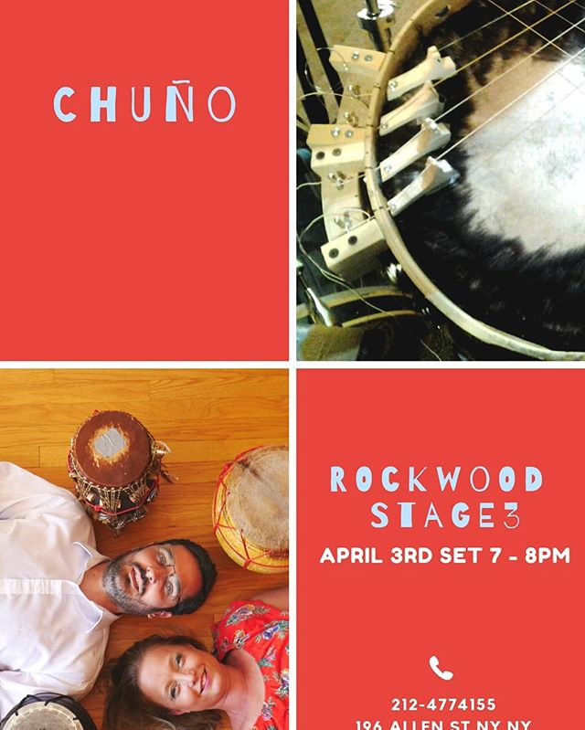 Soon performing @rockwoodmusichall with @duochuno on April 3rd at 7pm. Stop by!