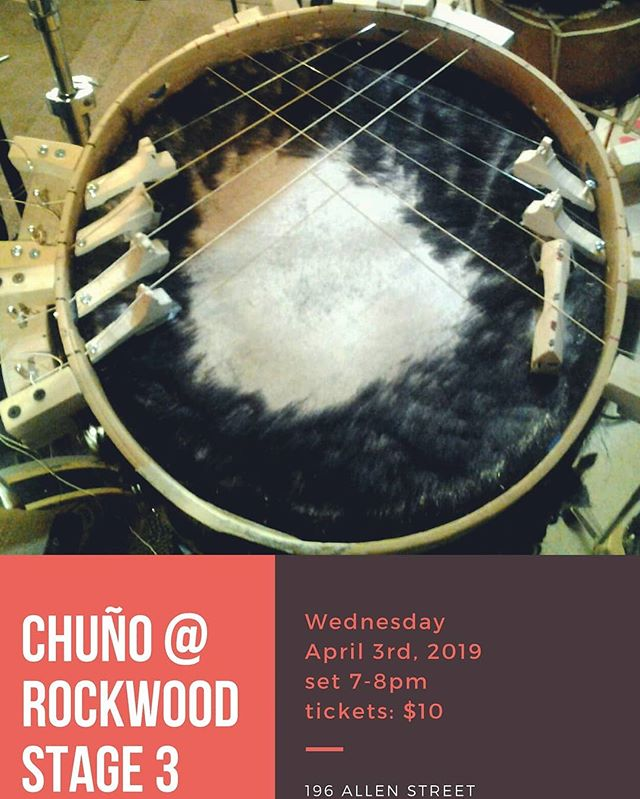 Performing soon with @duochuno @rockwoodmusichall on April 3rd at 7pm.