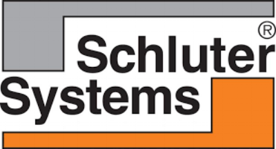 Schluter will be used under any tile floor installation as well as the edge of the tiles