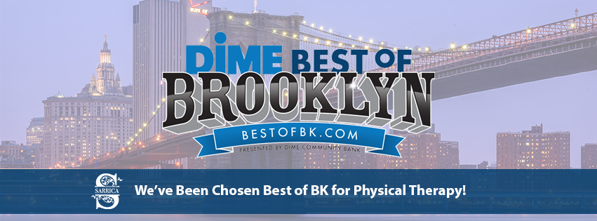 Sarrica Physical Therapy & Wellness Center is The Dime Best of Brooklyn Winner for Physical Therapy! Thank you to all our loyal patients who voted for us!