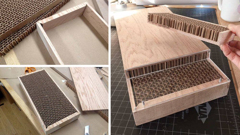 (Instead Of Cladding The Table With Thin Veneers Like Many Furniture  Products Do, A Heavier, One Quarter Inch Thick Solid Wood Exterior Was  Used.)