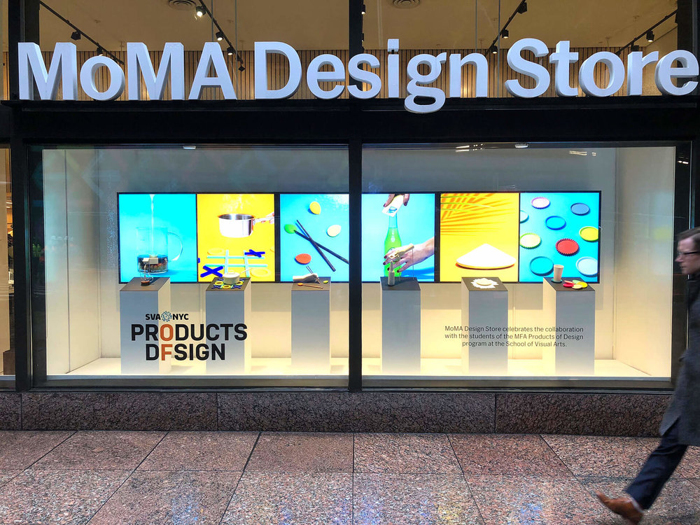 Opening Reception for SVA at MoMA Design Store! — Products of Design ...