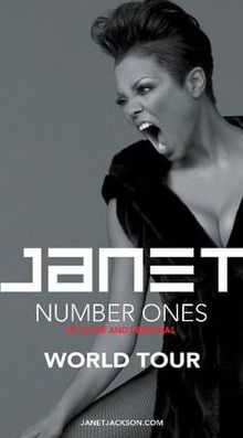 Janet Jackson, 'Number Ones' US Tour (Live Vocals)