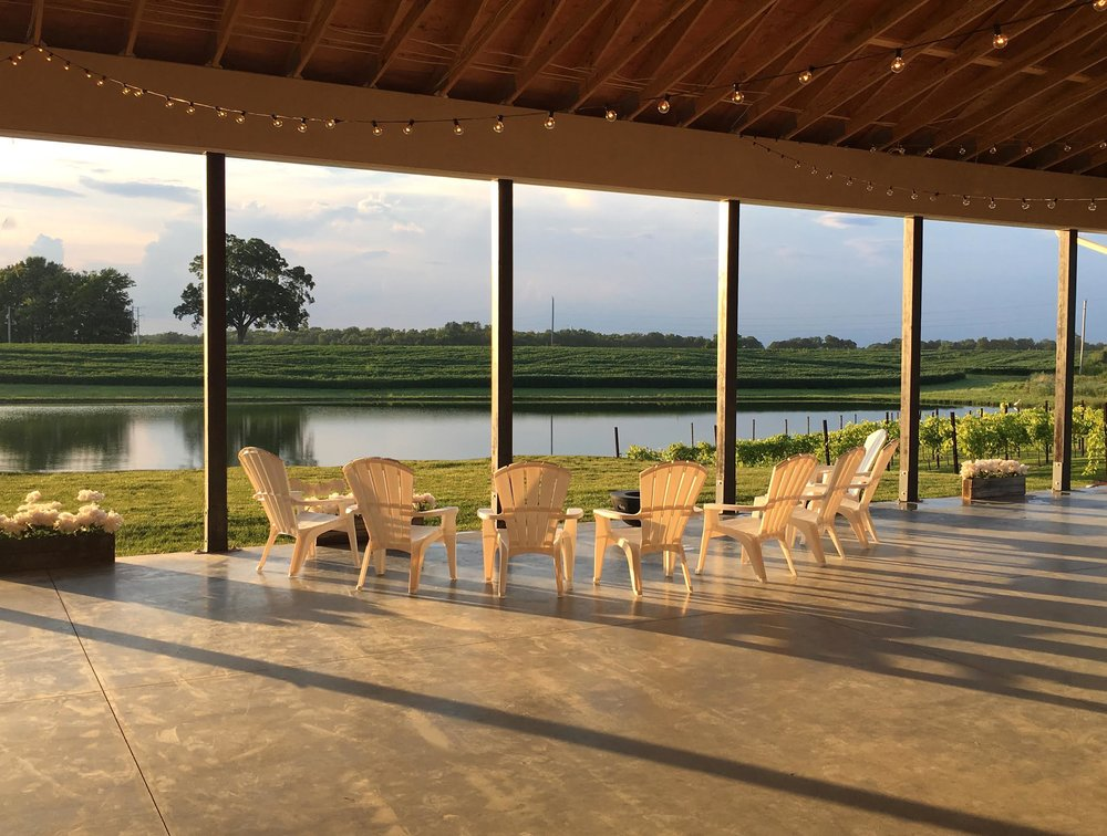 The Pour Vineyard Outdoor Seating