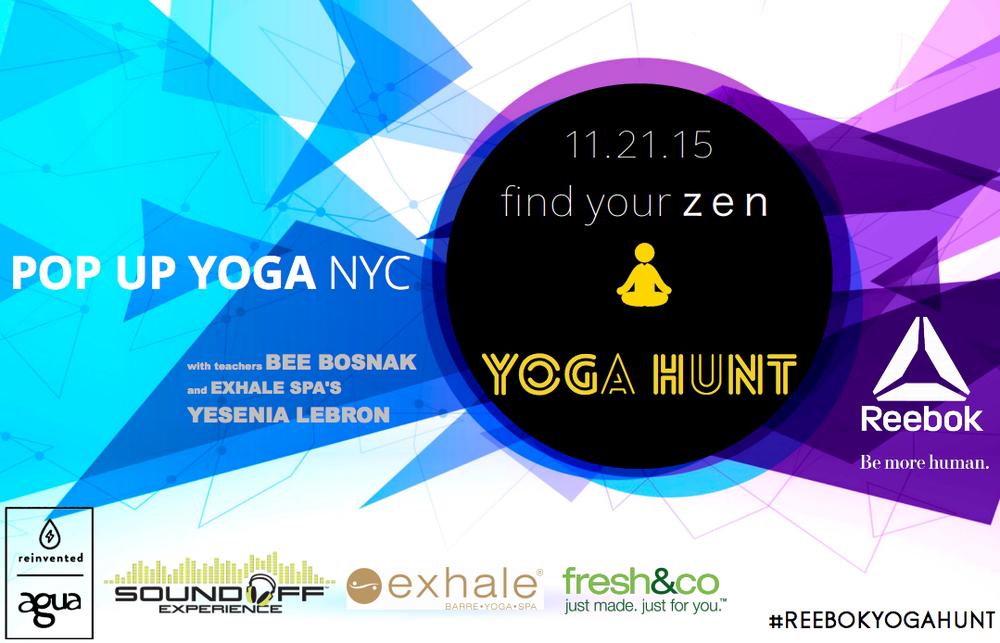 Reebok yoga hunt