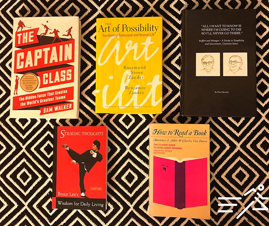 #4 - #7 plus a bonus of  Jonathan Marcus ' Top 10 Books of 2017