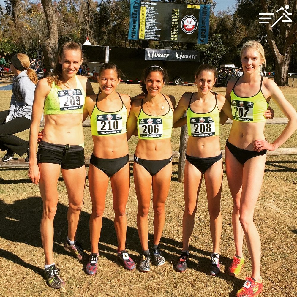 The 2016 USATF Club XC Championships 2nd place team, HPW Pro Women, were a hyper intelligent and inquisitive group. Their curiosity made me a better coach and them more effective competitors on race day, a true win-win.